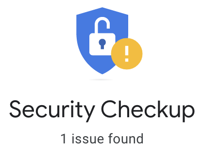 Security issue found